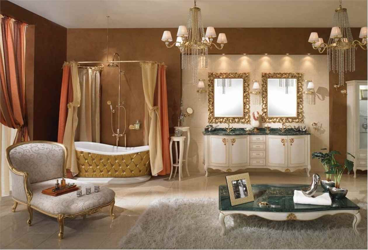 baie cu design clasic