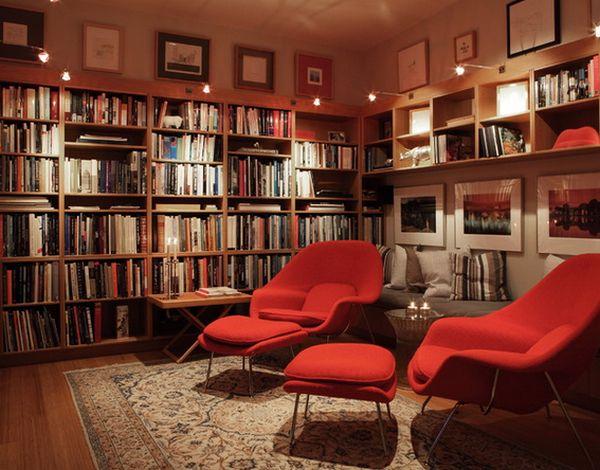 Biblioteca, un puternic spatiu de relaxare