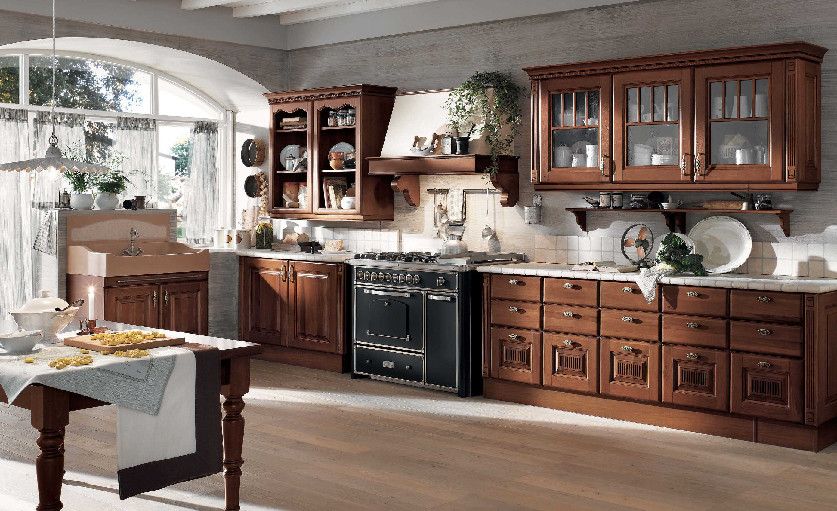 Bucatarie clasica vs bucatarie moderna amenajari for J and b kitchen designs
