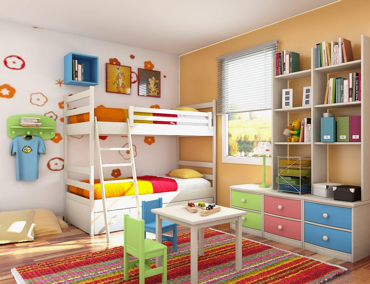 dormitor doi copii