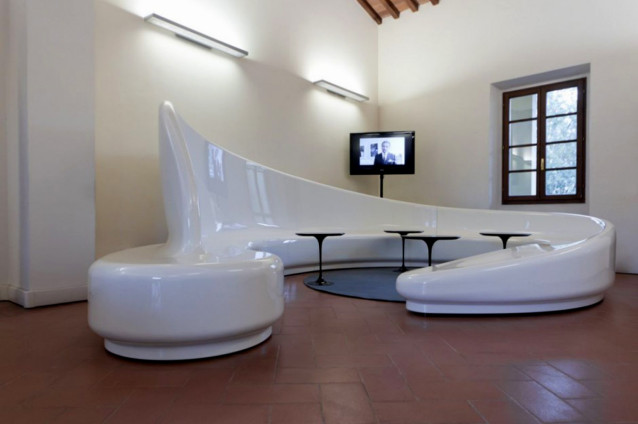 Unique Living Room Extension Designs Futuristic Sofa Design