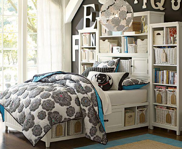 dormitor decorat in stil frantuzesc
