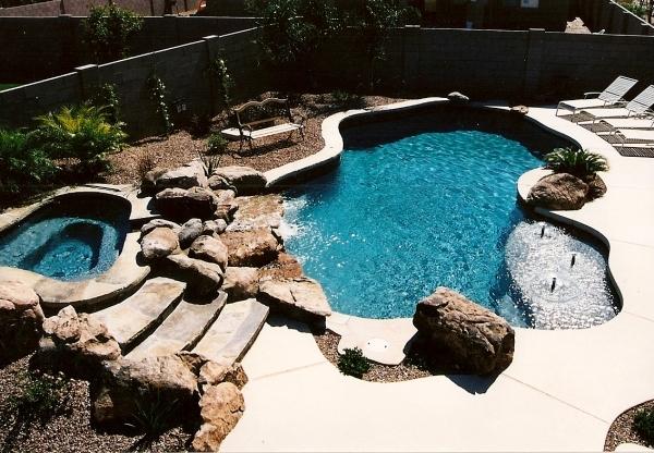 forma de piscina