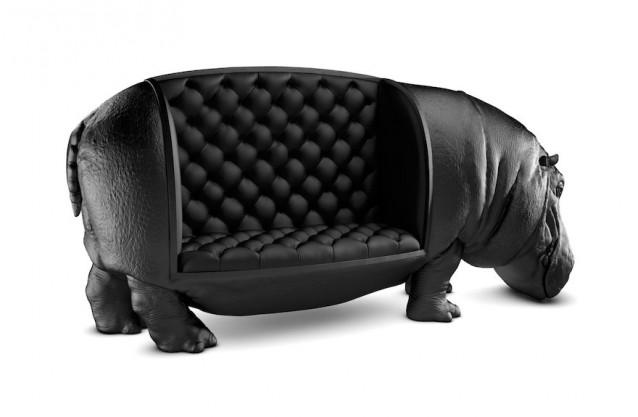 scaun hipopotam
