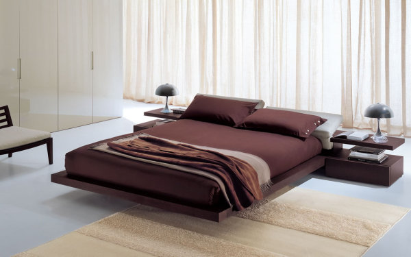 dormitor spatios in stil italienesc