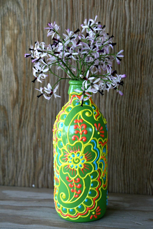 vaza din sticle